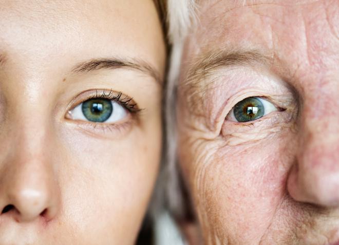 Признаки старения лица